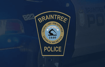 Braintree Police Department Patch
