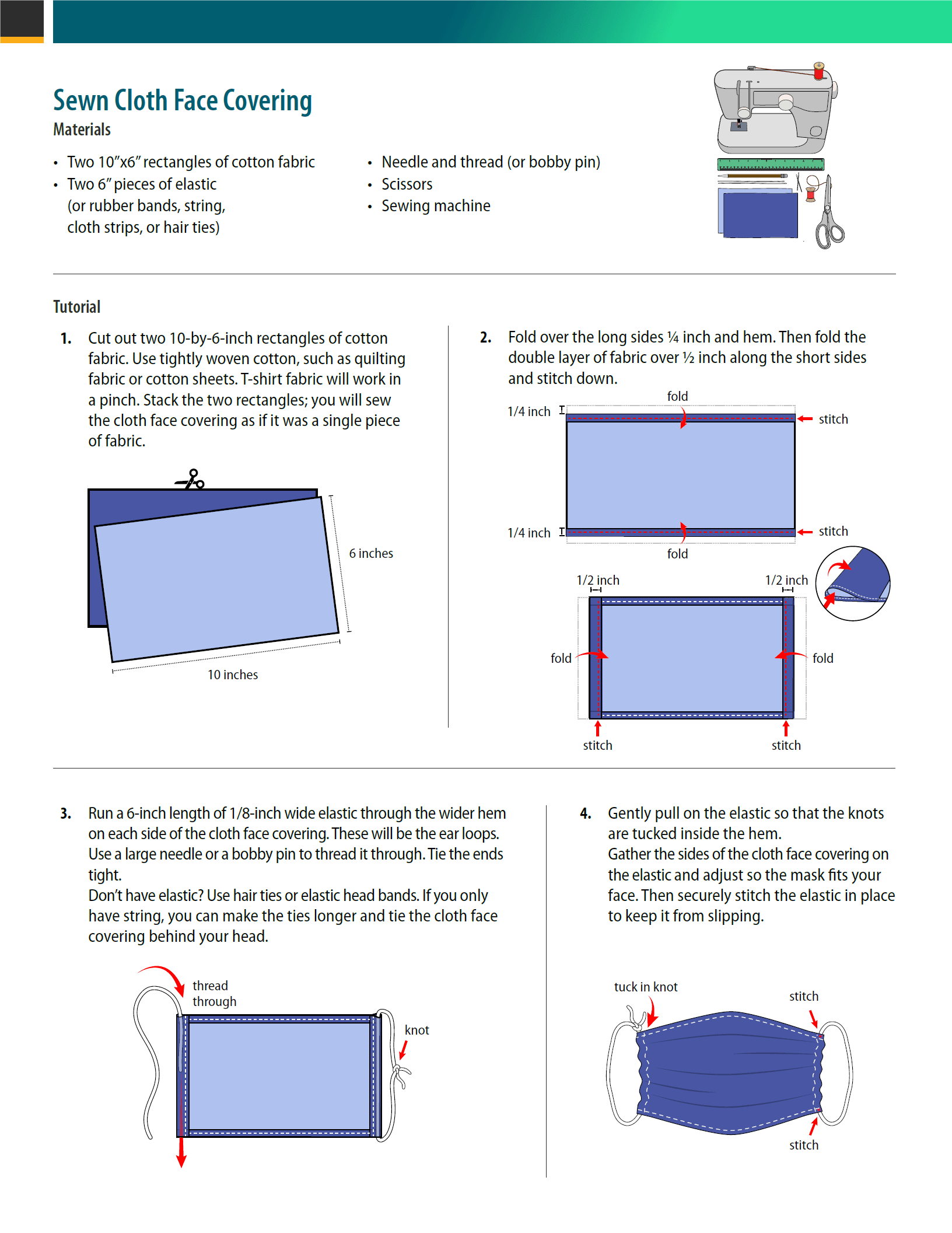CDC Guidance - Face Covering 2